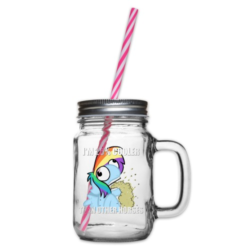 BC5 Crappy RD Meme Shirt - Mens - Glass jar with handle and screw cap