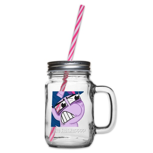 BC5 Crappy TS Meme Shirt - Mens - Glass jar with handle and screw cap