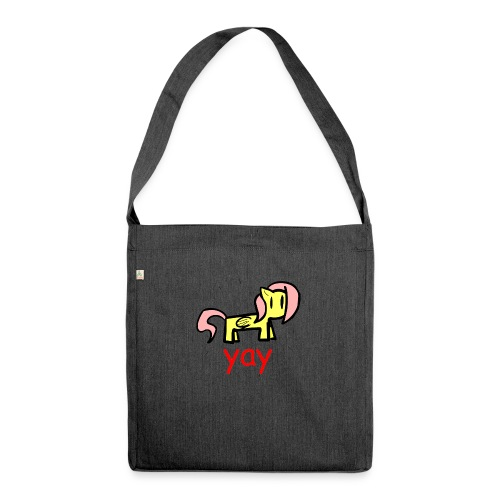 GENERIC BRONY SHIRT - Shoulder Bag made from recycled material