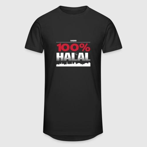 100%HALAL - Herre Urban Longshirt