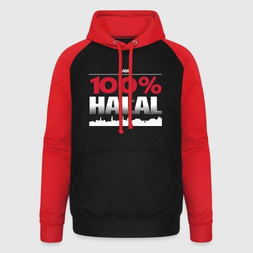 100%HALAL - Unisex baseball hoodie