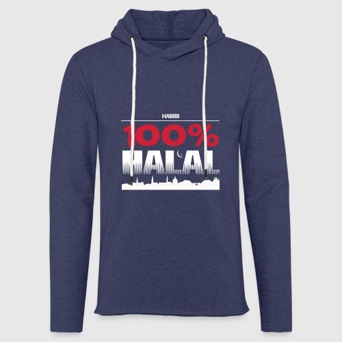 100%HALAL - Let sweatshirt med hætte, unisex