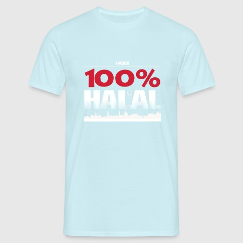 100%HALAL - Herre-T-shirt
