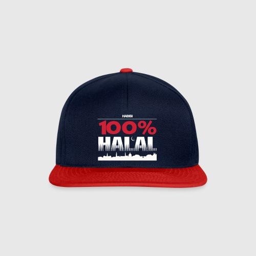 100%HALAL - Snapback Cap
