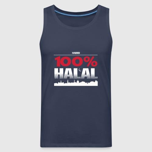 100%HALAL - Herre Premium tanktop