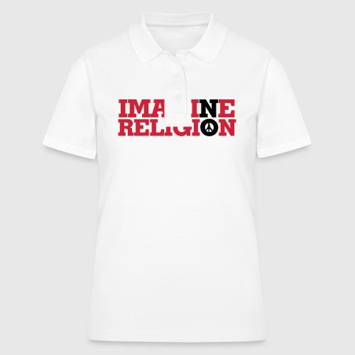 IMAGINE NO RELIGION - Women's Polo Shirt