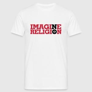 IMAGINE NO RELIGION - Herre-T-shirt