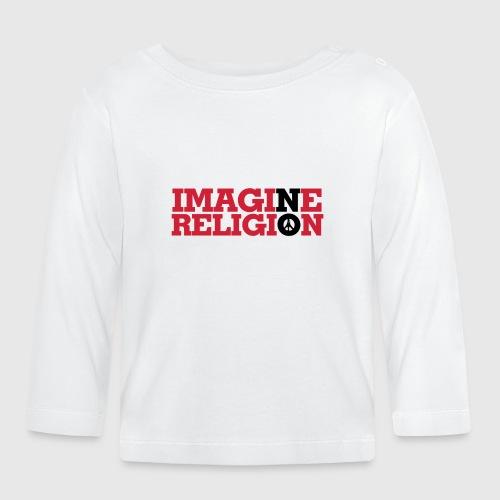 IMAGINE NO RELIGION - Langærmet babyshirt