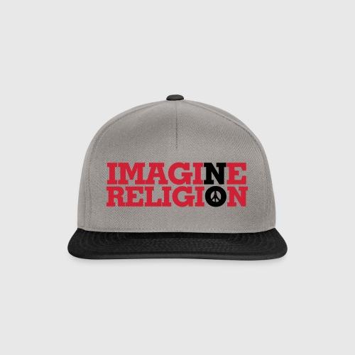 IMAGINE NO RELIGION - Snapback Cap