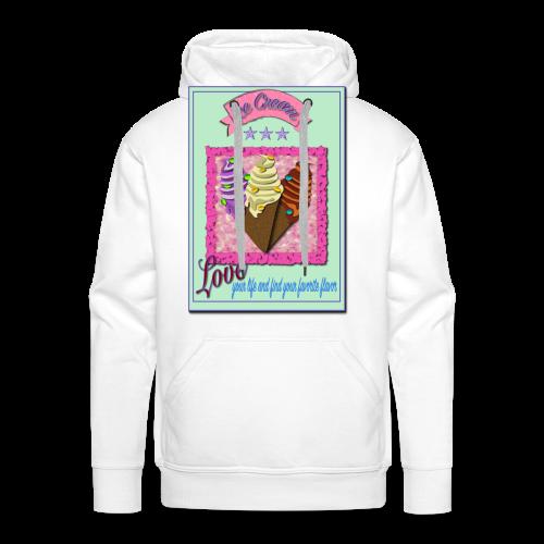 I Love Icecream - Männer Premium Hoodie