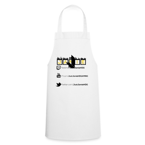 Woman's Official Tee! Gold Edition! - Cooking Apron