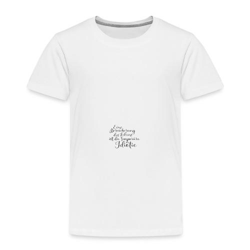 Temporäre Idiotie - Kinder Premium T-Shirt