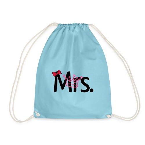 T-Shirt Mulher - Drawstring Bag