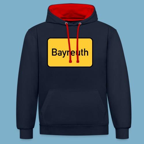 Bayreuth - Kontrast-Hoodie