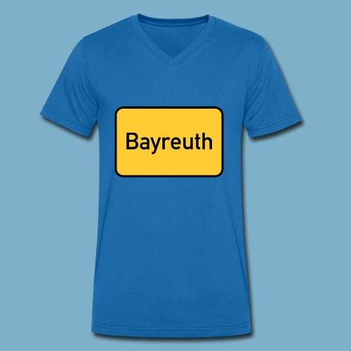 Bayreuth - Männer Bio-T-Shirt mit V-Ausschnitt von Stanley & Stella