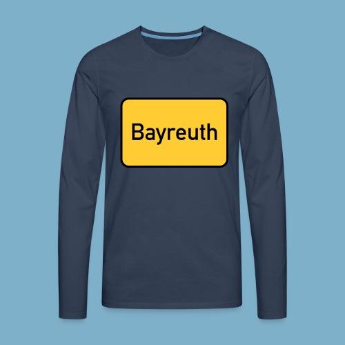 Bayreuth - Männer Premium Langarmshirt