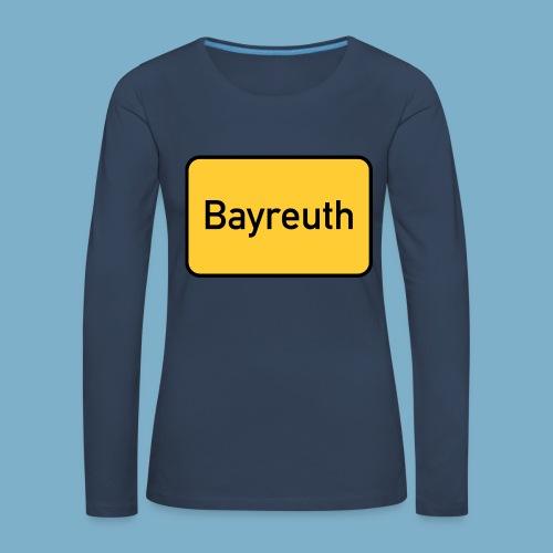 Bayreuth Ortsschild