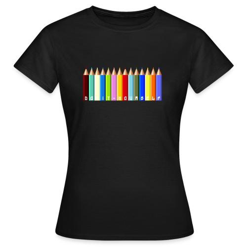 T-shirt femme Color - T-shirt Femme