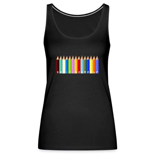 T-shirt femme Color - Débardeur Premium Femme