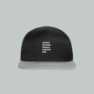 Sweat Homme Mauvaise Humeur - Casquette snapback