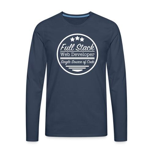 Full Stack Web Developer - Men's Premium Longsleeve Shirt