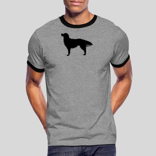 Toller Rüde - Männer Kontrast-T-Shirt