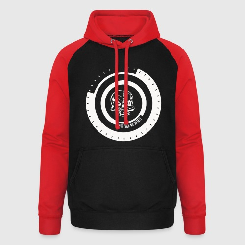 LIVING ON THE EDGE - Unisex baseball hoodie