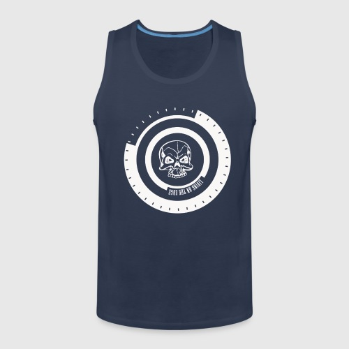 LIVING ON THE EDGE - Herre Premium tanktop