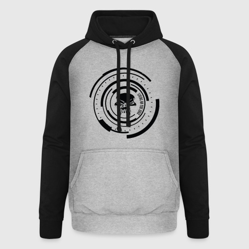 LIVING ON THE EDGE II - Unisex baseball hoodie