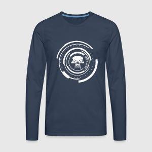 LIVING ON THE EDGE II - Herre premium T-shirt med lange ærmer