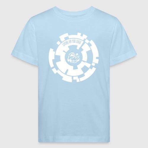LIVING ON THE EDGE  - Organic børne shirt
