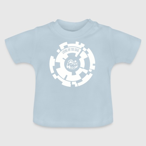 LIVING ON THE EDGE  - Baby T-shirt
