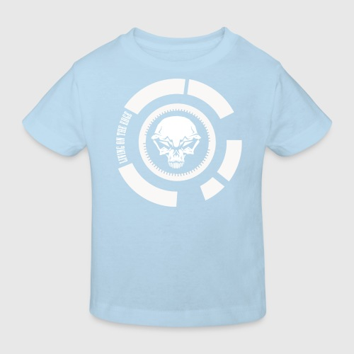 LIVING ON THE EDGE III - Organic børne shirt
