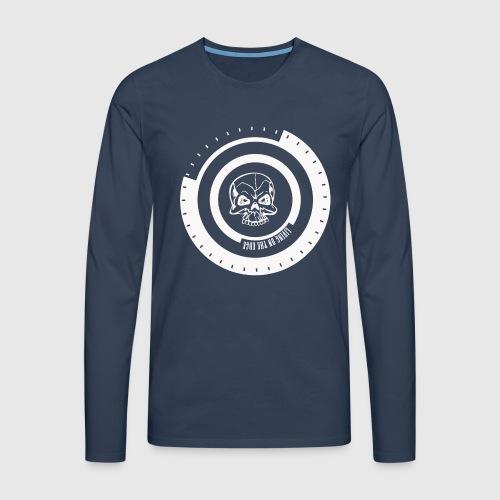 LIVING ON THE EDGE IIII - Herre premium T-shirt med lange ærmer