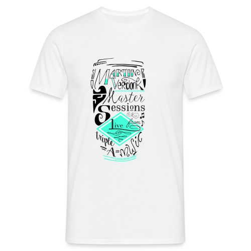 Cap _MVSessions - Mannen T-shirt