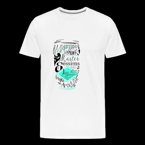 Cap _MVSessions - Mannen Premium T-shirt