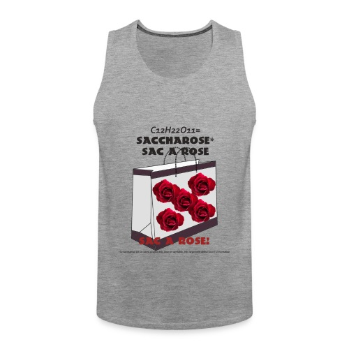 T-shirt Saccharose - Débardeur Premium Homme