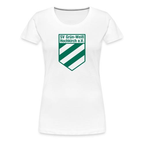 Buttons mit Logo der GWH! - Frauen Premium T-Shirt