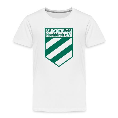 Buttons mit Logo der GWH! - Kinder Premium T-Shirt
