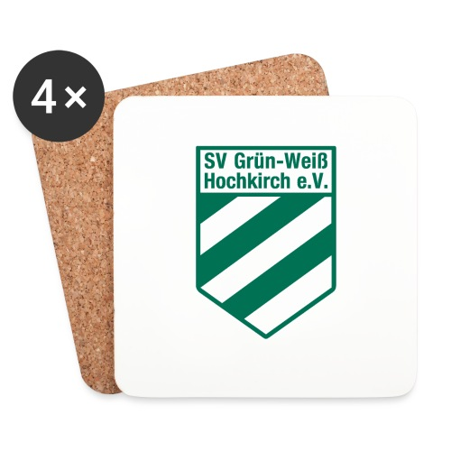 Buttons mit Logo der GWH! - Untersetzer (4er-Set)