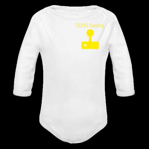 TG333 Gaming Kids T-Shirt - Organic Longsleeve Baby Bodysuit