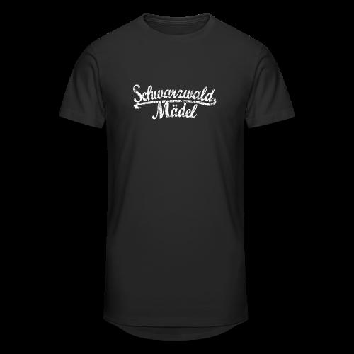 Schwarzwald Mädel Classic Vintage (Weiß) S-3XL T-Shirt - Männer Urban Longshirt
