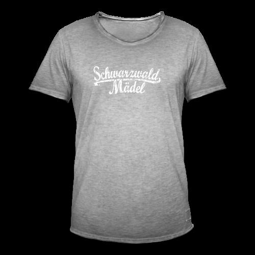 Schwarzwald Mädel Classic Vintage (Weiß) S-3XL T-Shirt - Männer Vintage T-Shirt