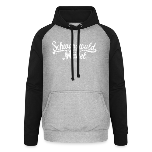Schwarzwald Mädel Classic Vintage (Weiß) S-3XL T-Shirt - Unisex Baseball Hoodie