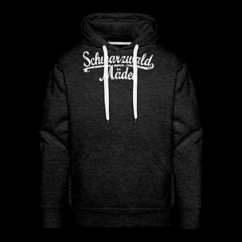 Schwarzwald Mädel Classic Vintage (Weiß) S-3XL T-Shirt - Männer Premium Hoodie