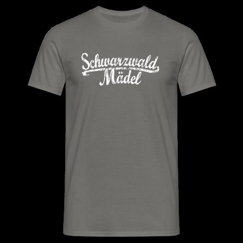 Schwarzwald Mädel Classic Vintage (Weiß) S-3XL T-Shirt - Männer T-Shirt