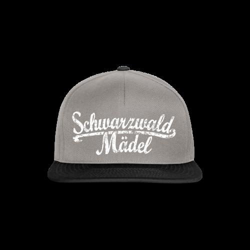 Schwarzwald Mädel Classic Vintage (Weiß) S-3XL T-Shirt - Snapback Cap