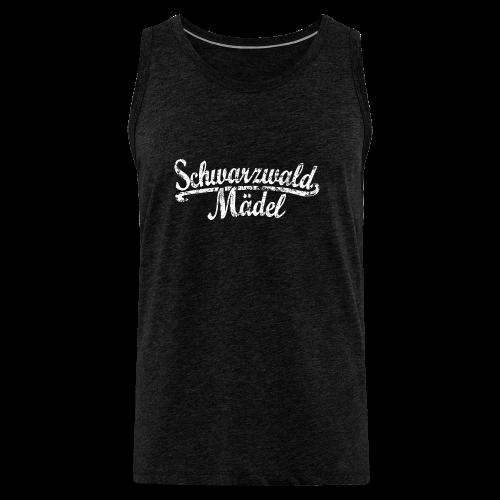 Schwarzwald Mädel Classic Vintage (Weiß) S-3XL T-Shirt - Männer Premium Tank Top