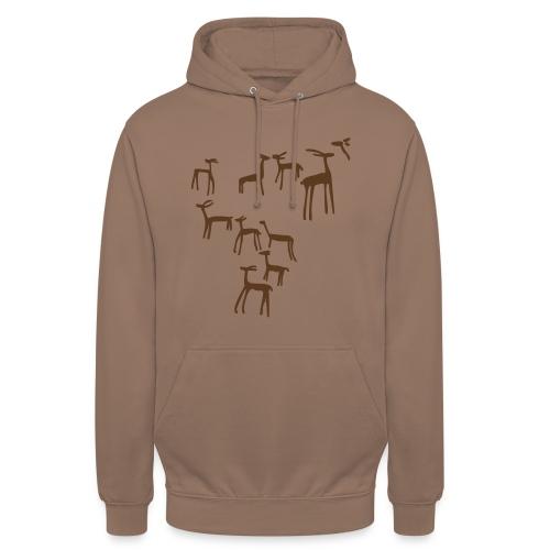 Camiseta ciervos - Sudadera con capucha unisex