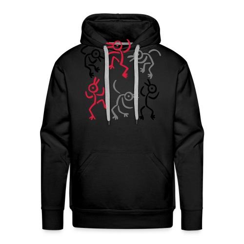 Camiseta danza - Sudadera con capucha premium para hombre
